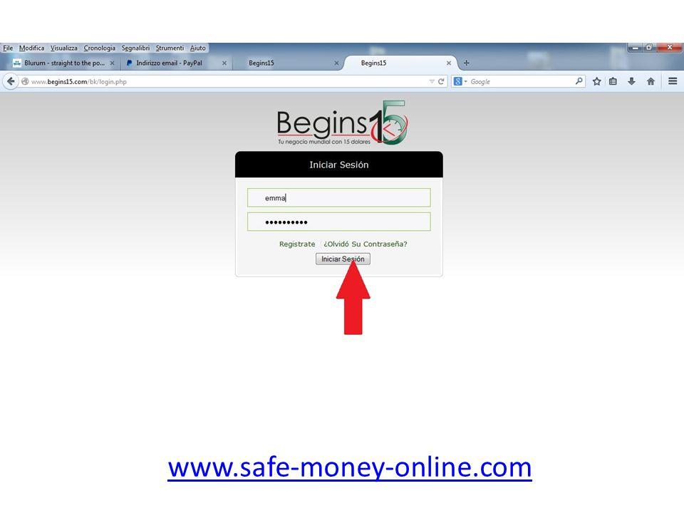 Klick auf 'Perfil' und dann 'Informaciòn de Pago