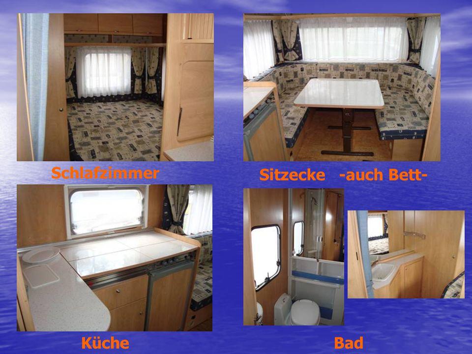 BadKüche Sitzecke -auch Bett- Schlafzimmer