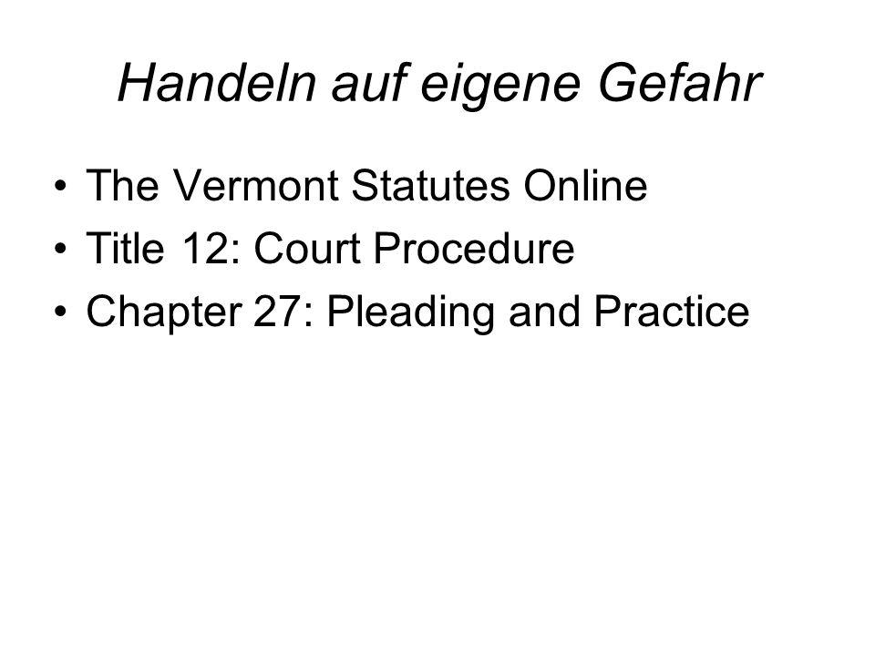Haftungsfreizeichnung Vermont: Dalury v.S.K.I. Ltd, 164 Vt.