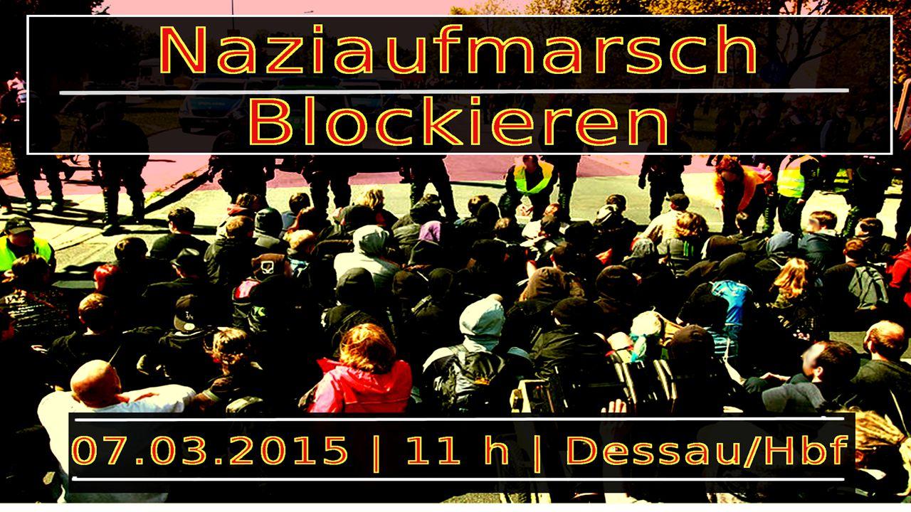 """2005 """"Trauermarsch in Dessau Anmelder: Holocaustleugner und Frontmann der """"Freien Kameradschaften Christian Worch Ehemaliger OB H."""