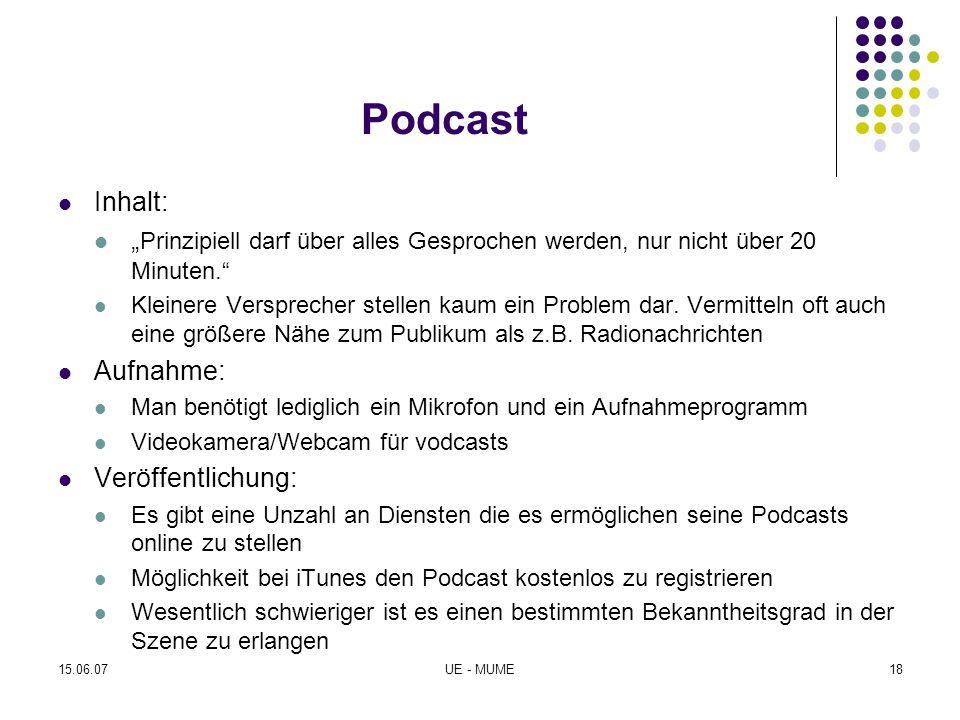 """Podcast Inhalt: """" Prinzipiell darf über alles Gesprochen werden, nur nicht über 20 Minuten."""" Kleinere Versprecher stellen kaum ein Problem dar. Vermit"""