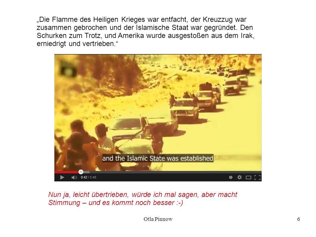 Otla Pinnow27 Also studierte der Rat des Islamischen Staates die Sache.