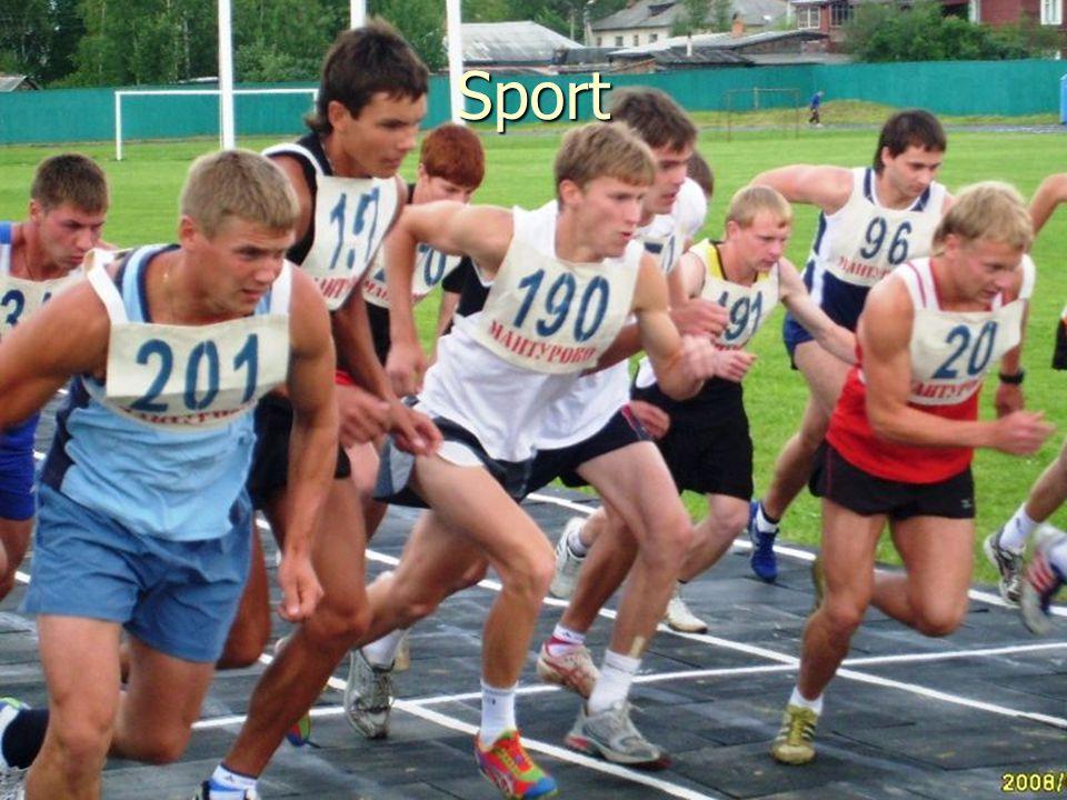 Was ist für mich wichtig? Sport