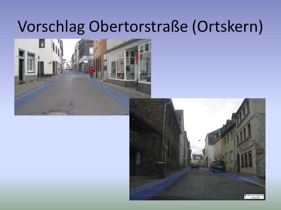 Vorschlag Obertorstraße (Ortskern)