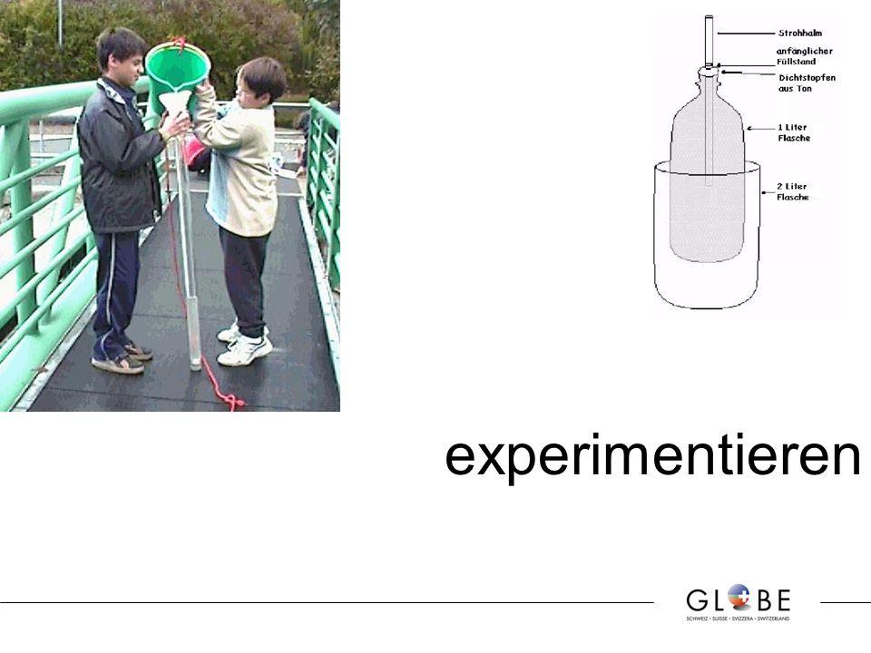 experimentieren