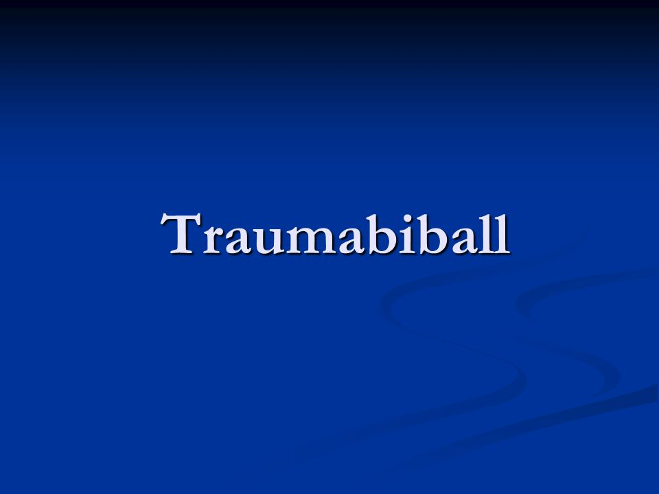 Traumabiball