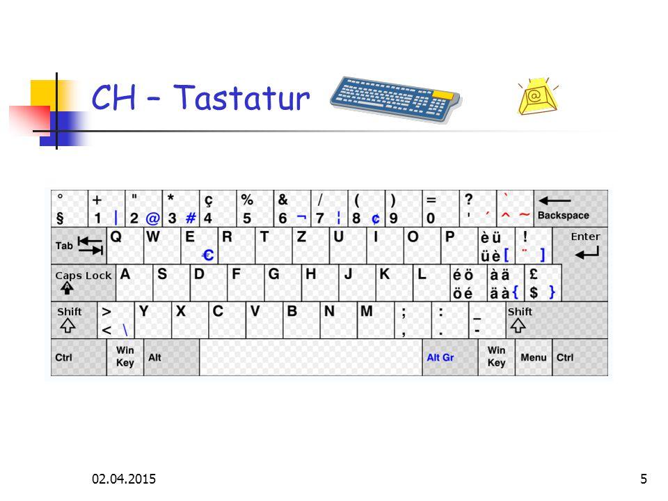 02.04.20155 CH – Tastatur