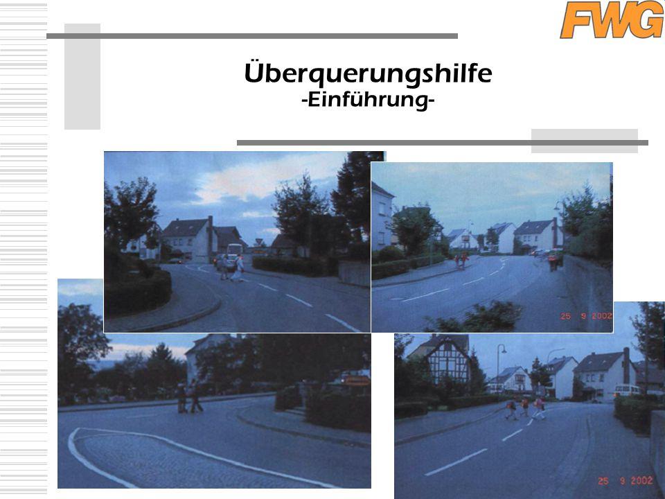 Überquerungshilfe -Einführung-