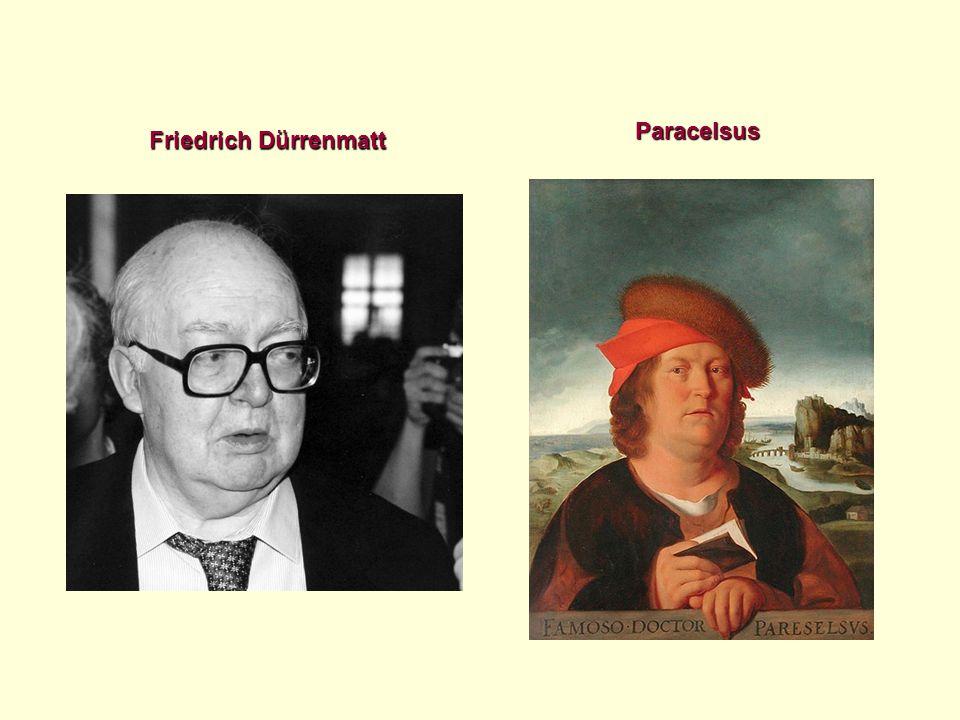 Friedrich Dürrenmatt Paracelsus