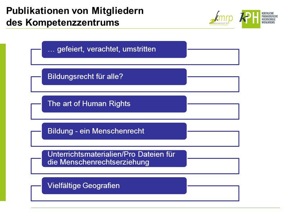 … gefeiert, verachtet, umstrittenBildungsrecht für alle?The art of Human RightsBildung - ein Menschenrecht Unterrichtsmaterialien/Pro Dateien für die