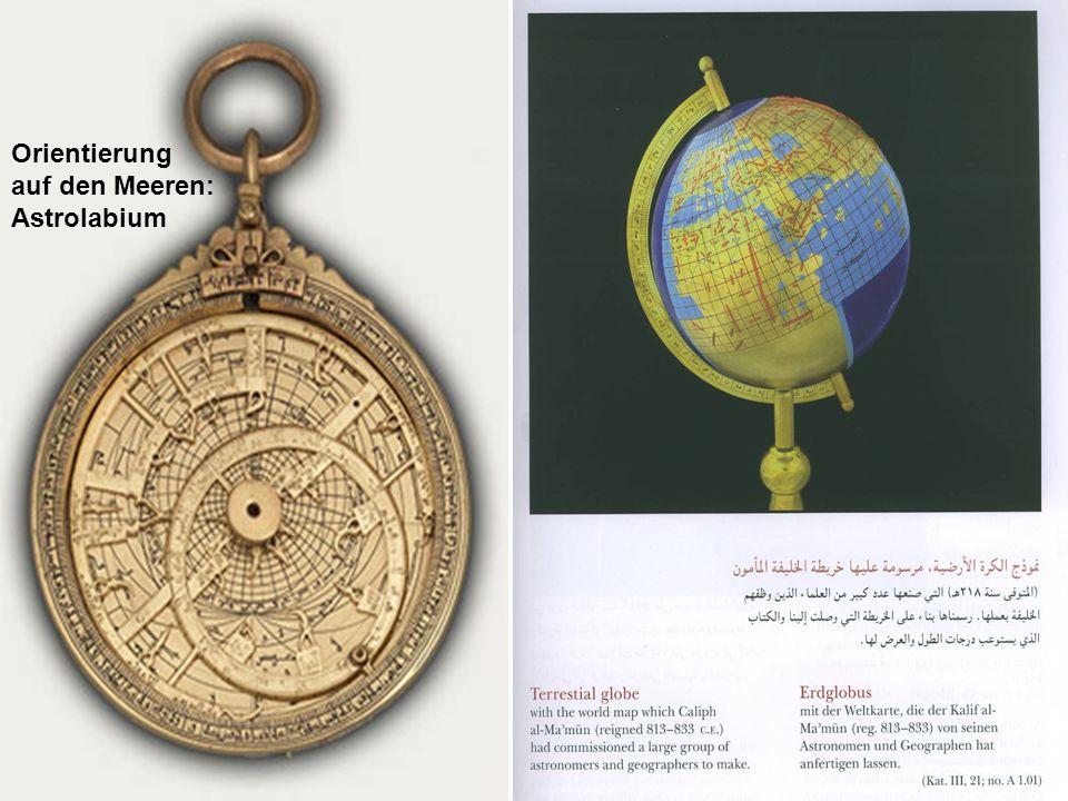 Orientierung auf den Meeren: Astrolabium