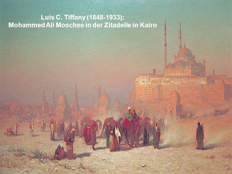 Luis C. Tiffany (1848-1933): Mohammed Ali Moschee in der Zitadelle in Kairo