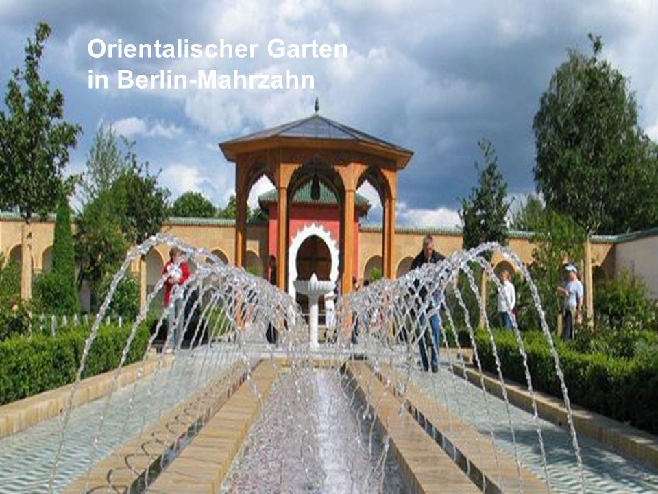 Orientalischer Garten in Berlin-Mahrzahn