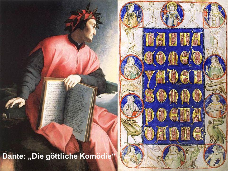 "Dante: ""Die göttliche Komödie"""