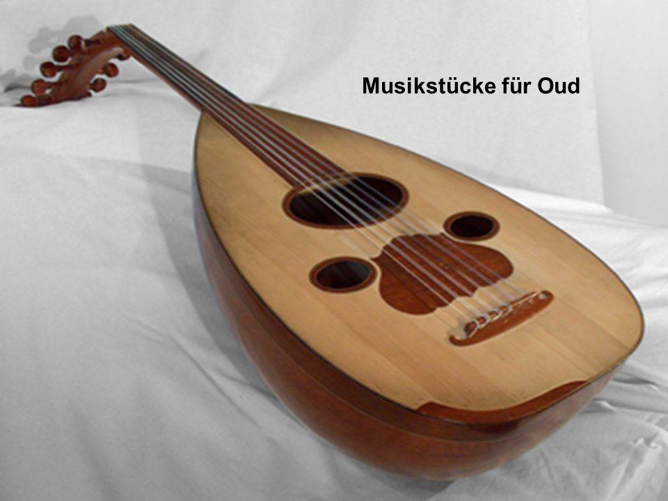 Musikstücke für Oud