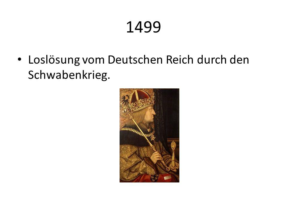 1798 Die Helvetische Republik wird gegründet.