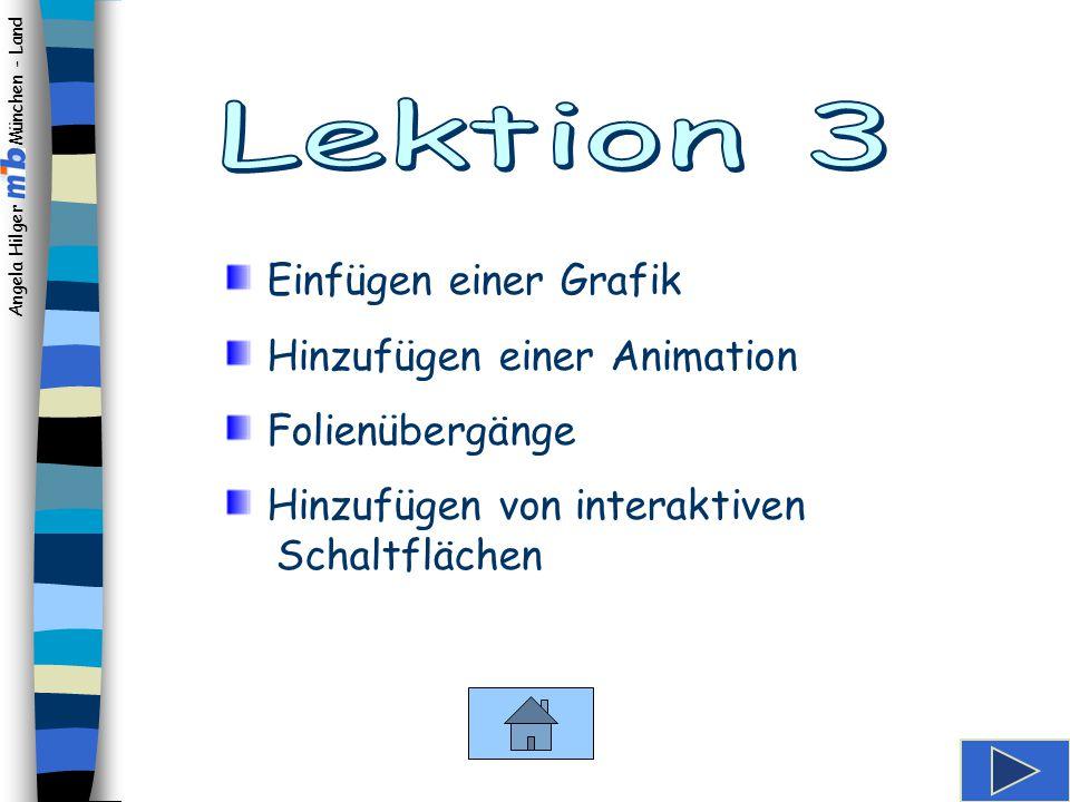 Angela Hilger München - Land Wordart formatieren Lektion 3