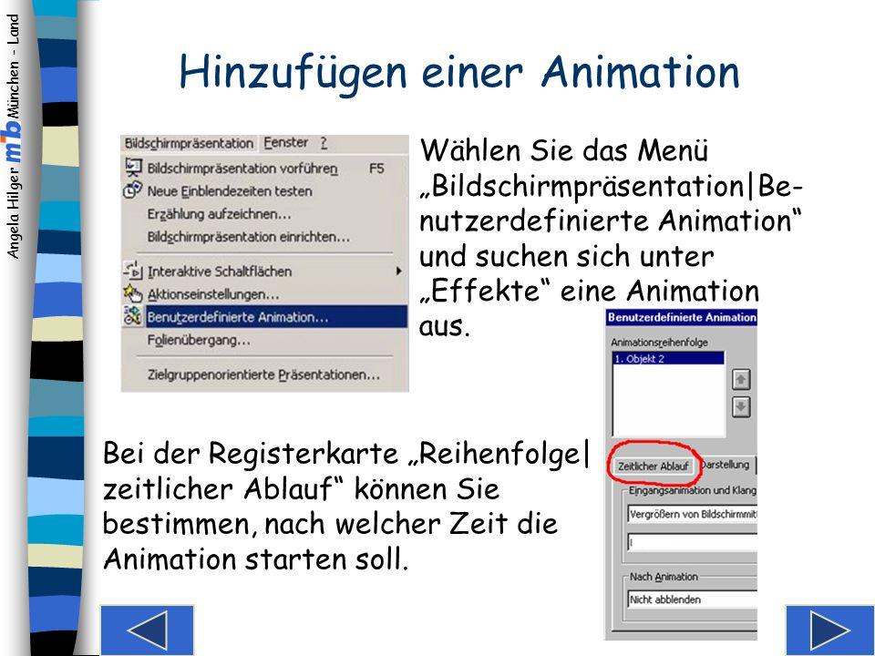 """Angela Hilger München - Land Spielerei am Rande… Es können selbstverständlich auch animierte Bildchen (""""Gifs"""") eingefügt werden. Die Bewegung ist aber"""