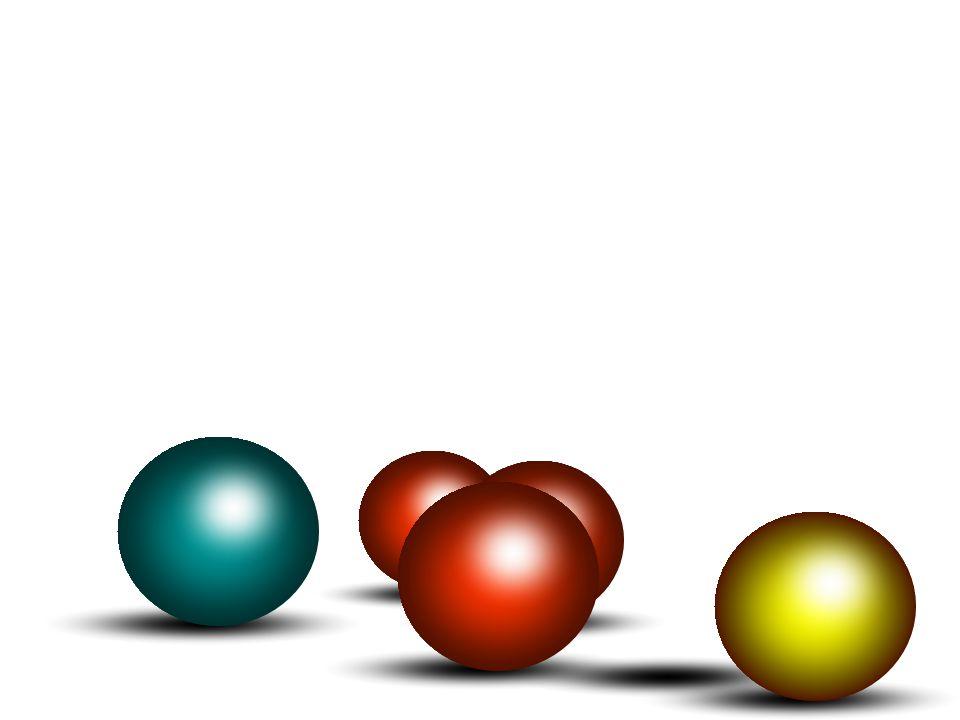 Zweite Variation - zwei Folien - Die Kugeln fallen mit Schattenbildung von oben herab Sie sind eingebettet in einen Hintergrund (Grafik) Die linke Kugel springt mit Schattenbildung im Hintergrund über die rechte aus dem Bild Bei der zweiten Folie ist ein animiertes Gif mit selbst erstellter Schattenbildung eingefügt (ansonsten Ablauf wie erste Folie)