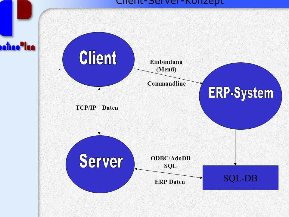 Client-Server-Konzept.