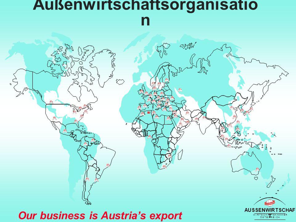 AUSSENWIRTSCHAF T W I R T S C H A F T S K A M M E R Ö S T E R R E I C H Our business is Austria's export success Internationalisierung - Direktinvestitionen