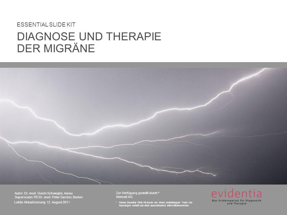 Zur Verfügung gestellt durch:* Almirall AG *Dieses Essential Slide Kit wurde von einem unabhängigen Team von Neurologen erstellt und dient ausschliesslich Informationszwecken.