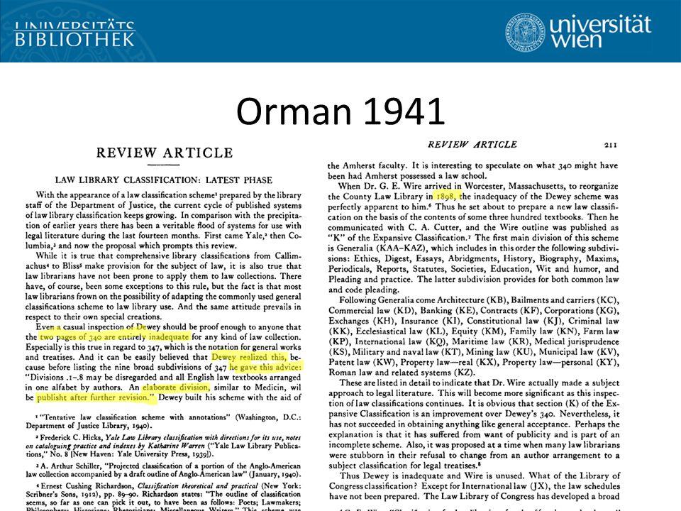 Orman 1941 Bild