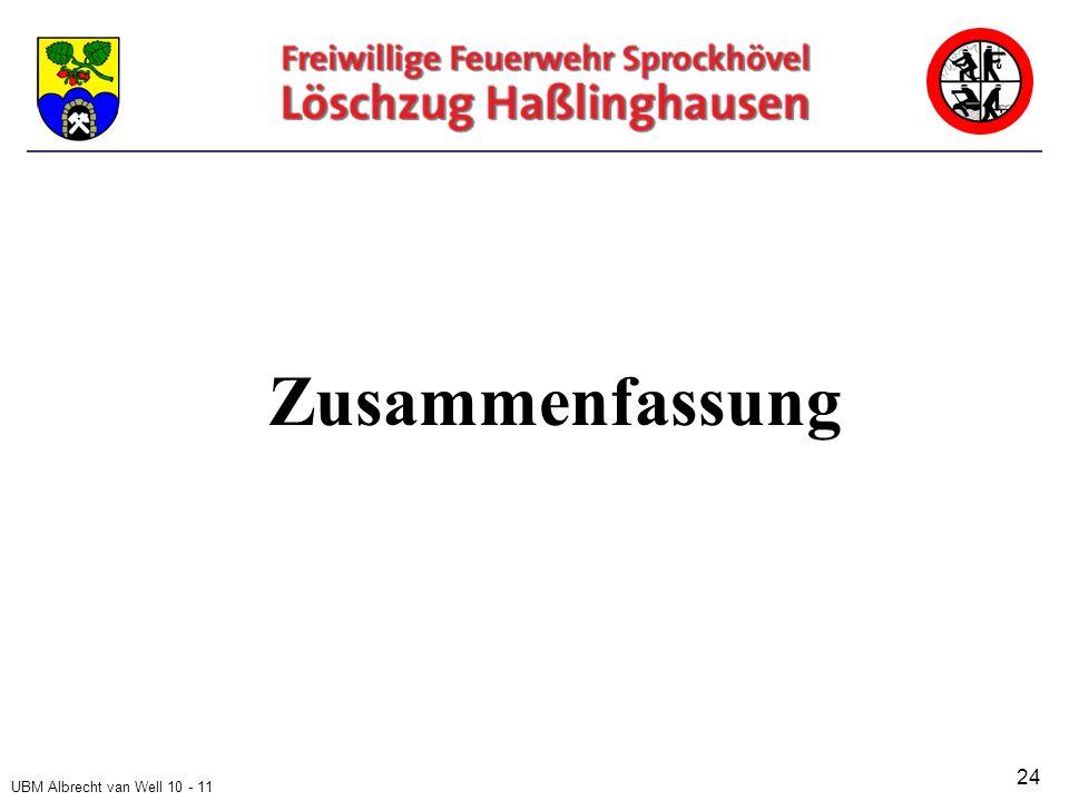 UBM Albrecht van Well 10 - 11 Zusammenfassung 24