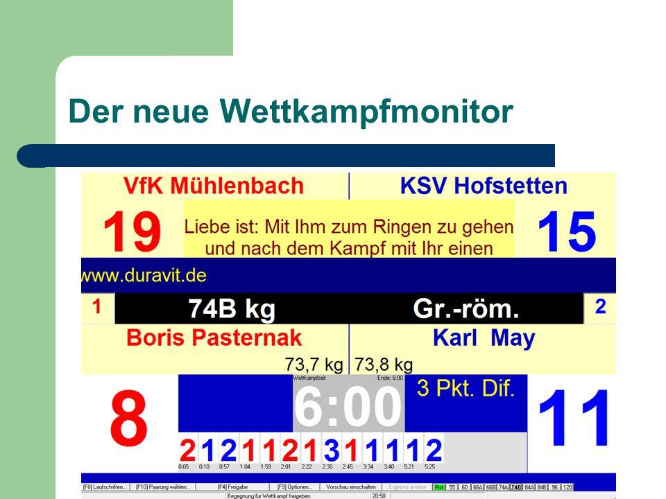 Geändert Warnungen vor dem Ausdruck Die bisherigen Meldungen (mit OK bestätigen) wurden durch diese rote Meldung im Druckauswahlfenster (bei Mannschaftsprotokollen) verschoben.