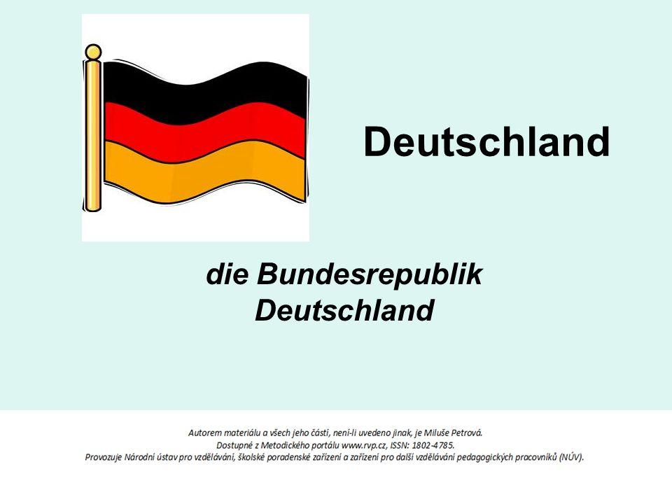 Deutschland die Bundesrepublik Deutschland