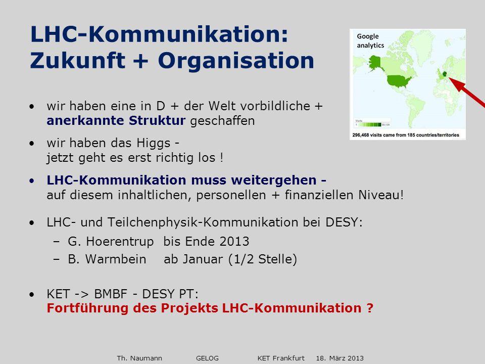 Th.Naumann GELOG KET Frankfurt 18. März 2013 mobile Ausstellung: ca.