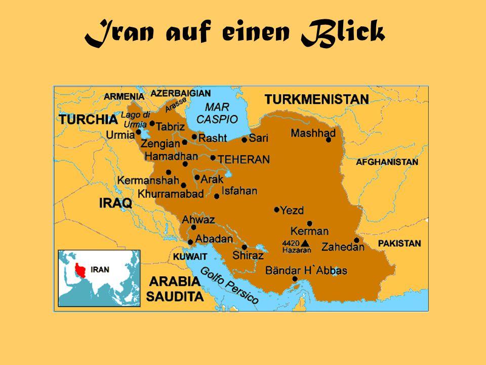 Iran auf einen Blick
