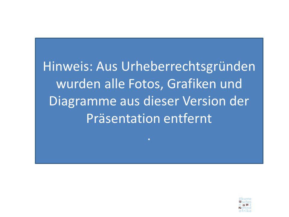 Hinweis: Aus Urheberrechtsgründen wurden alle Fotos, Grafiken und Diagramme aus dieser Version der Präsentation entfernt.