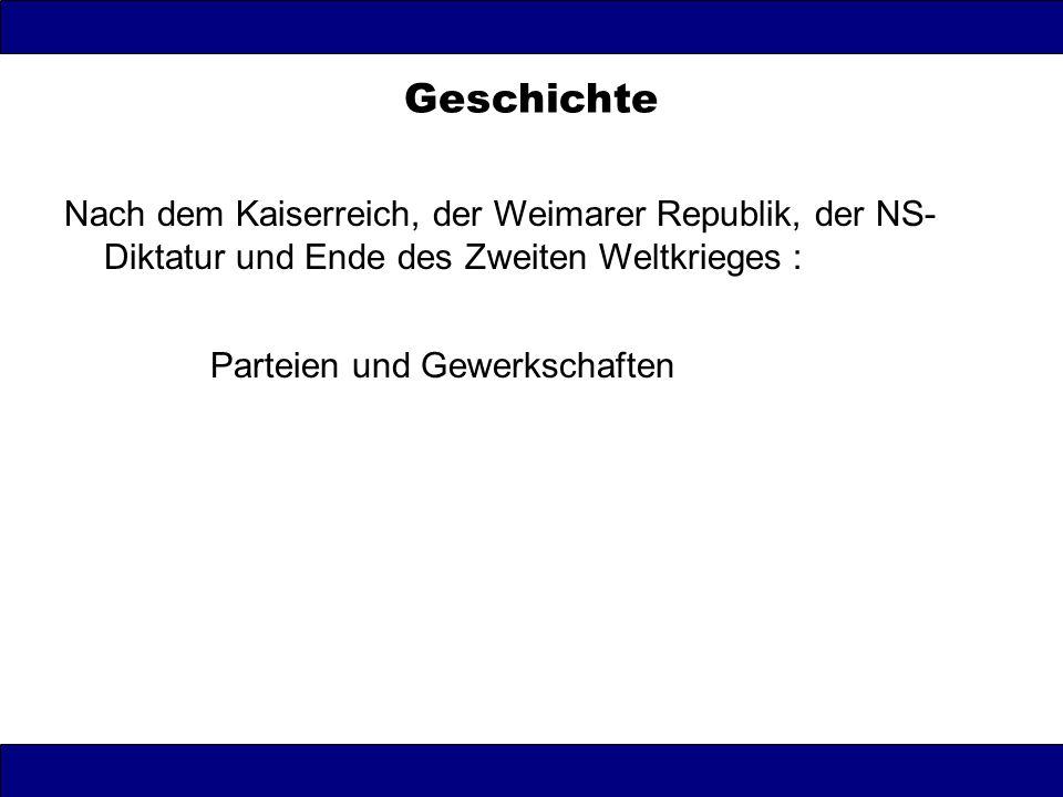 Westliche Besatzungszonen (US-; brit, frz.) SPD: (Wählerpotential ca.