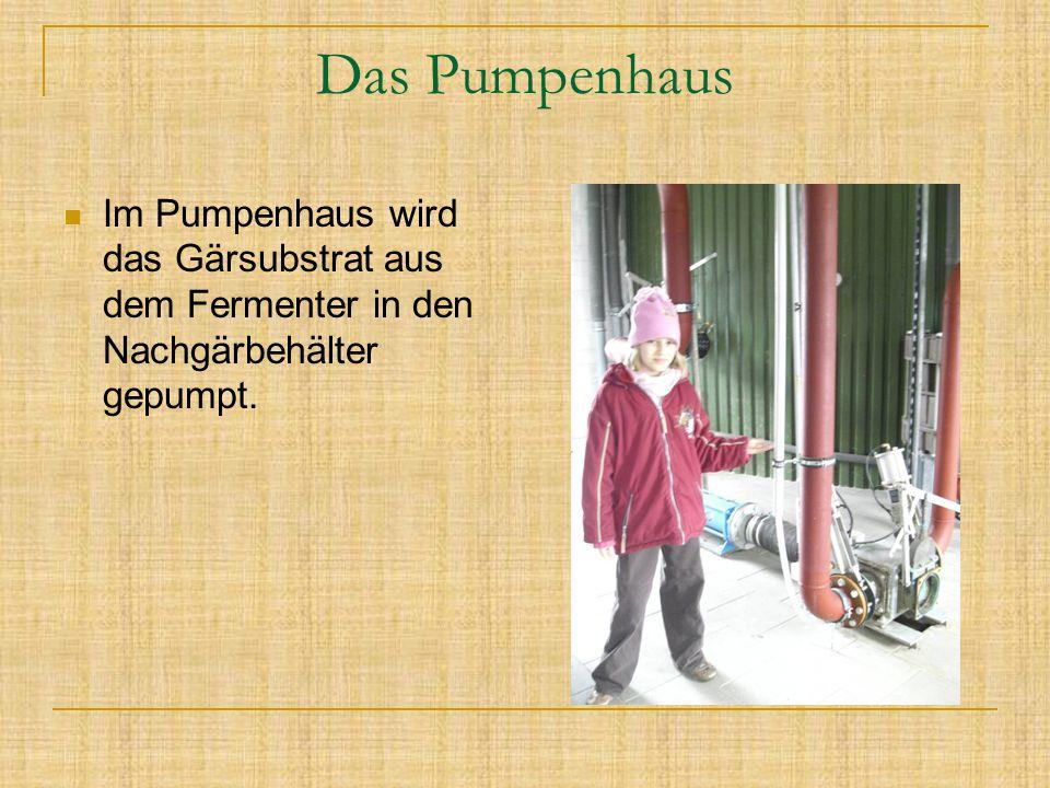 Wärmeaustauscher Der Wärmeaustauscher ist die Heizung für den Fermenter.