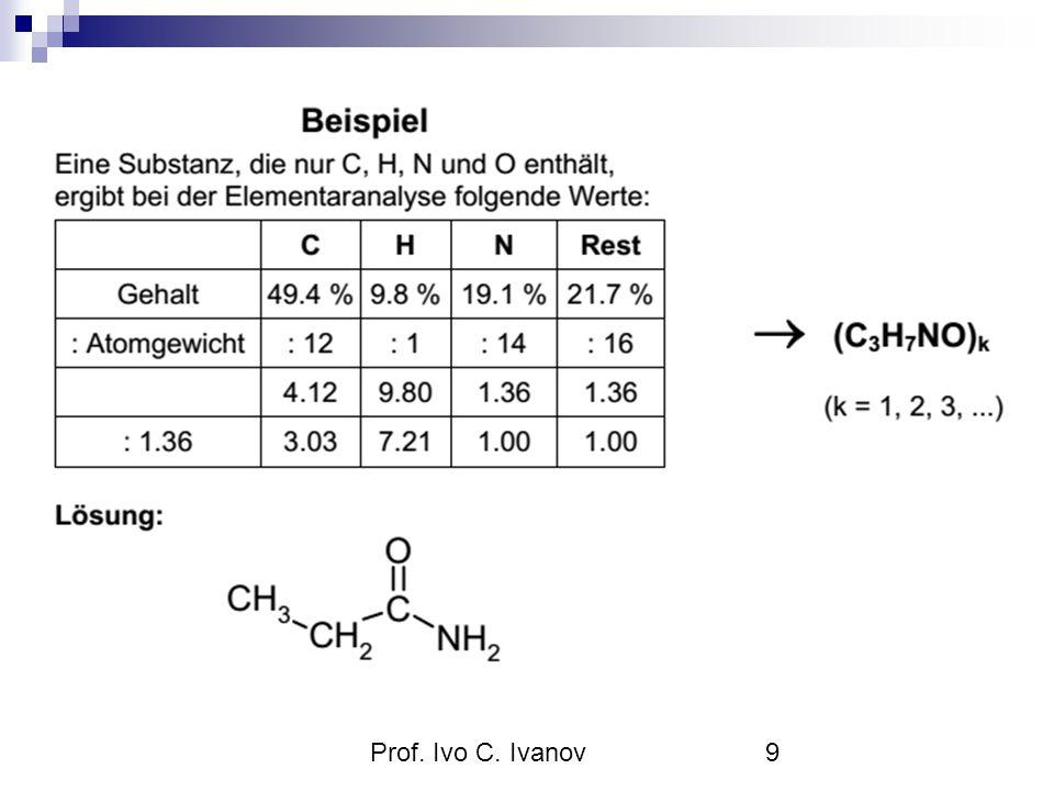 Bei der Untersuchung einer Verbindung der Elemente Kohlenstoff, Wasserstoff und Sauerstoff im Elementaranalysegerät ergaben sich folgende Massenanteile: w(Kohlenstoff) = 39,9 %, w(Wasserstoff) = 6,7 % Welche Verhältnisformel besitzt diese Verbindung.