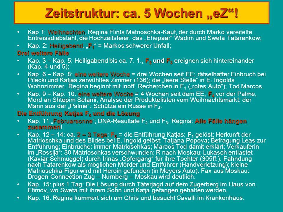 """Zeitstruktur: ca. 5 Wochen """"eZ ."""