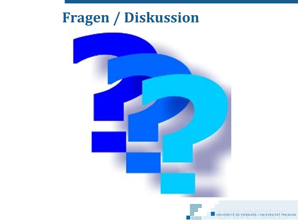 Fragen / Diskussion