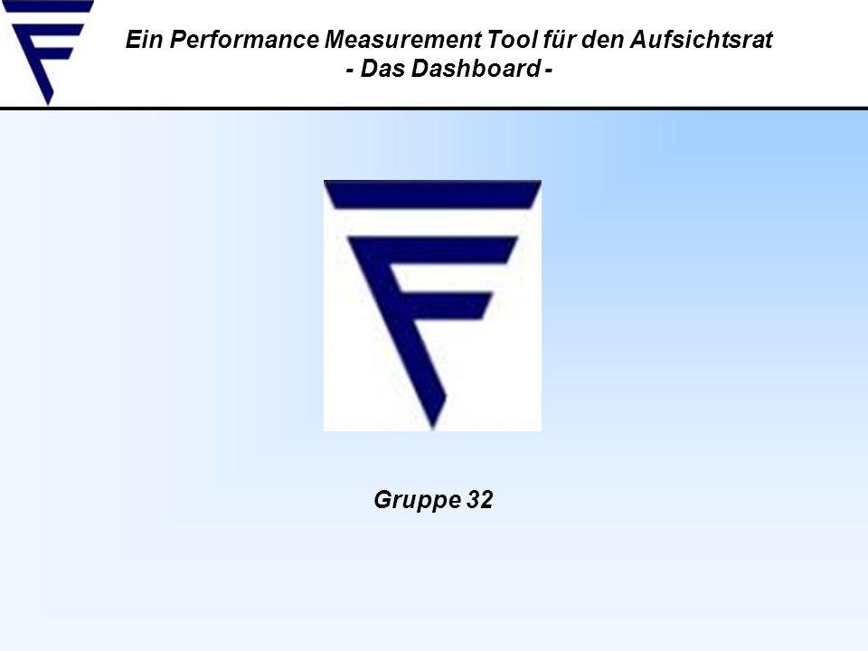 Ein Performance Measurement Tool für den Aufsichtsrat - Das Dashboard - Gruppe 32