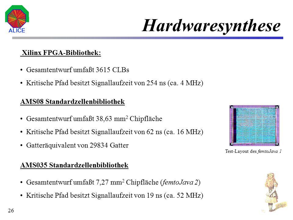 """27 Projektstatus Implementierung der """"Linear track fit engine –Simulationsmodel liegt vor und wird iterativ verbessert –Werte aus Simulation bestimmen die Implementierungsstruktur der Hardwarerealisierung Erster Prototyp der microCPU ist vorhanden –Hardwarerealiesierung der LTFE liegt vor (VHDL-Modell) –Tape out Q1 `00 –Nächster Designschritt der microCPU Q2 `00"""
