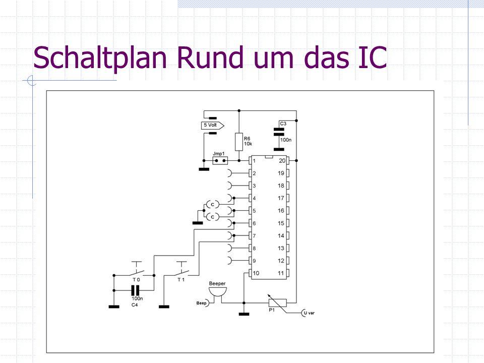 Schaltplan Rund um das IC