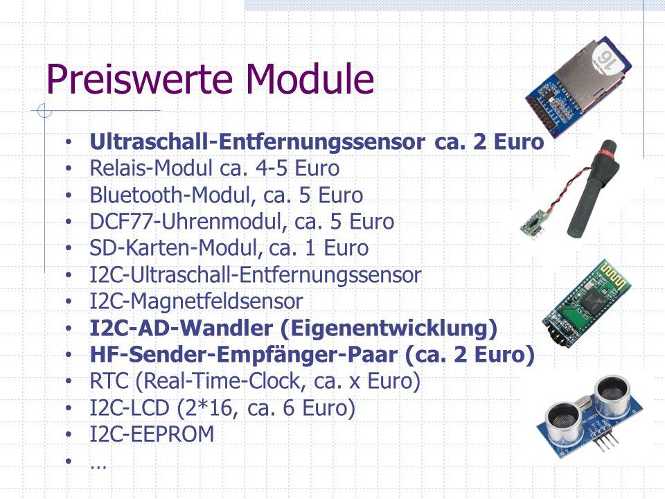Preiswerte Module Ultraschall-Entfernungssensor ca.