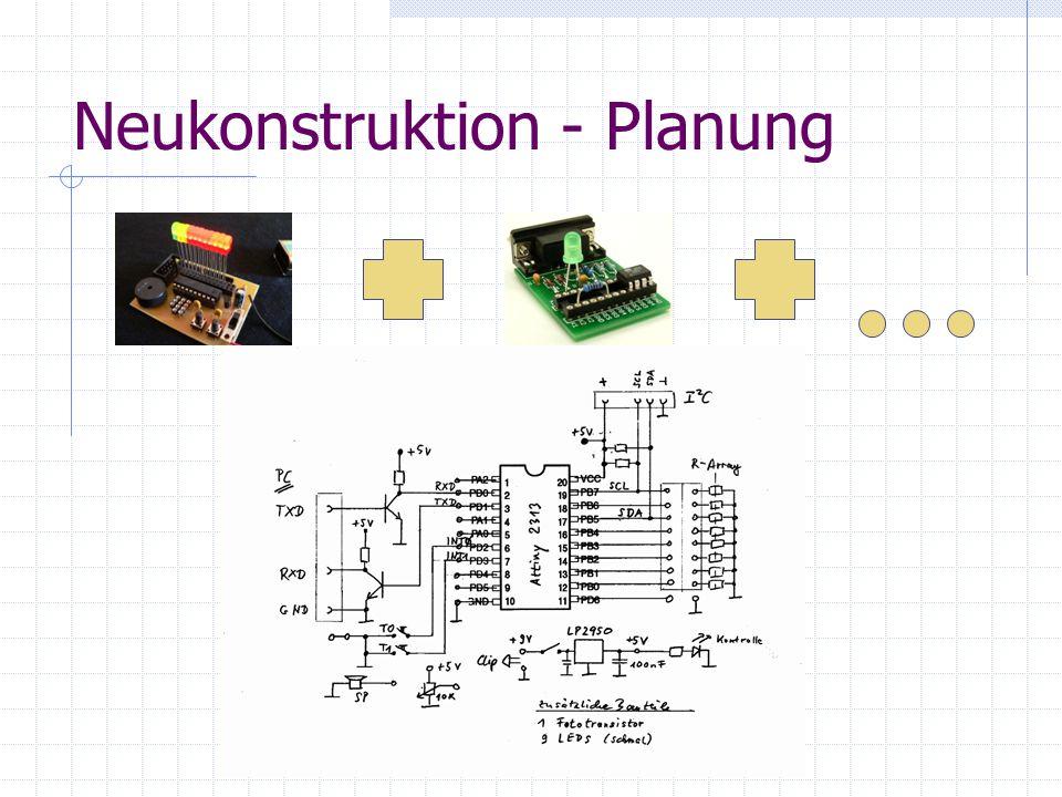 Neukonstruktion - Planung