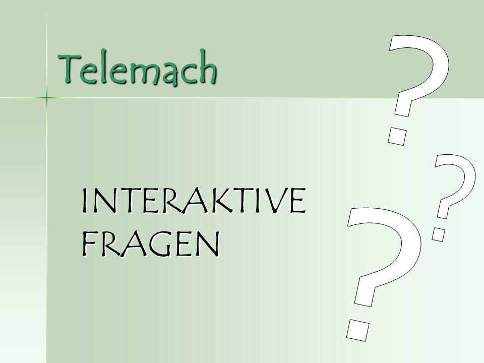 Telemach INTERAKTIVE FRAGEN