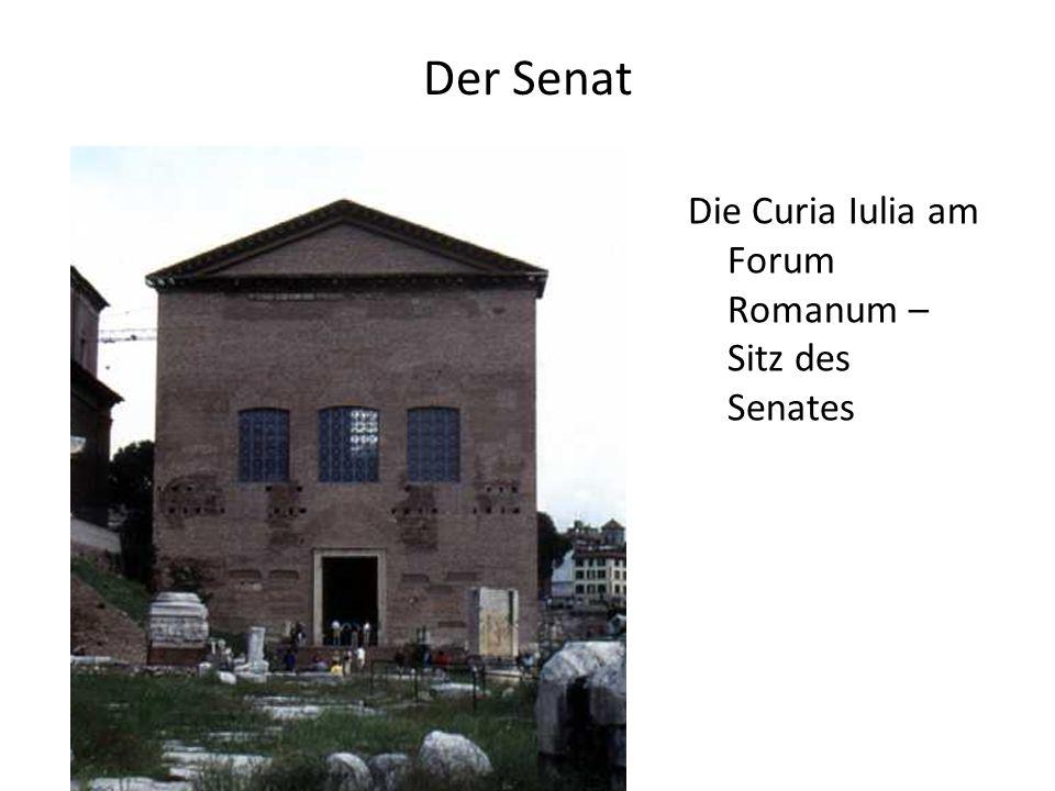 Das politische Zentrum des mittelrepub- likanischen Rom