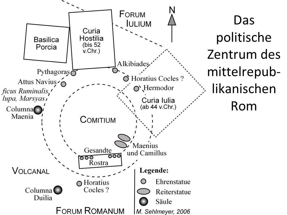 Die politische Kultur der mittleren Republik Literatur Kleidung Pompa funebris Exempla Gladiatorenspiele Triumph