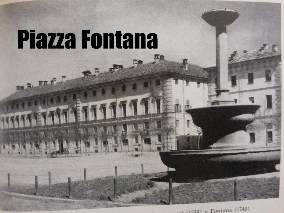 Piazza Fontana war 1700 ein Exerzierplatz für die Soldaten.