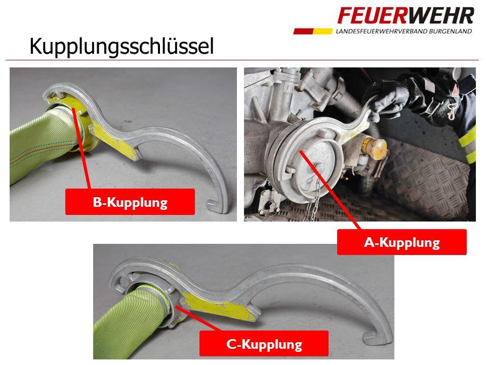 Kupplungsschlüssel B-Kupplung A-Kupplung C-Kupplung