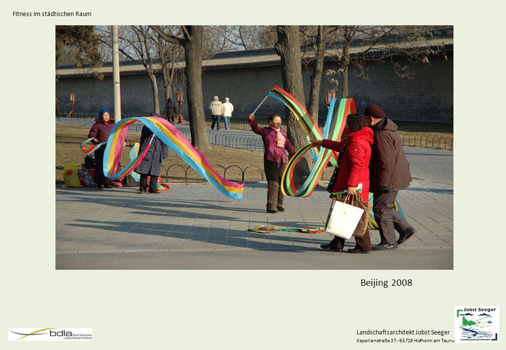 Landschaftsarchitekt Jobst Seeger Kapellenstraße 37 - 65719 Hofheim am Taunus Generationen Generationenfokussiert Generationsübergreifend Fitness im städtischen Raum