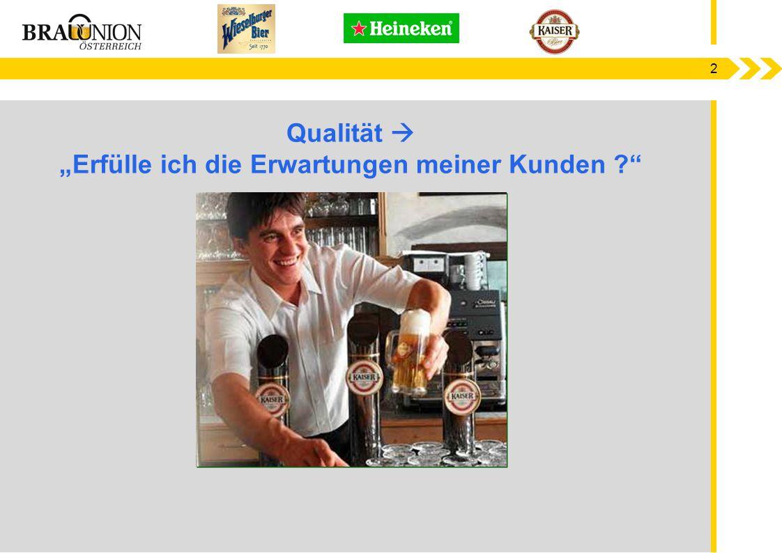 13 Benchmarks  ~ 150 Brauereien weltweit  Brewery Comparison System  Produktionsprozess KPI´s  KPI´s aus FTR - First Time Right Parameter  Heineken Manufacturing Star